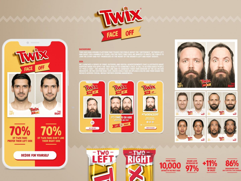 Twix Face Off Thumbnail