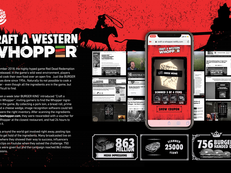 Craft a western Whopper Thumbnail