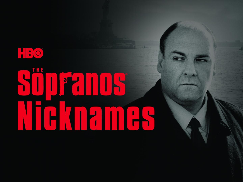 Sopranos Nicknames Thumbnail