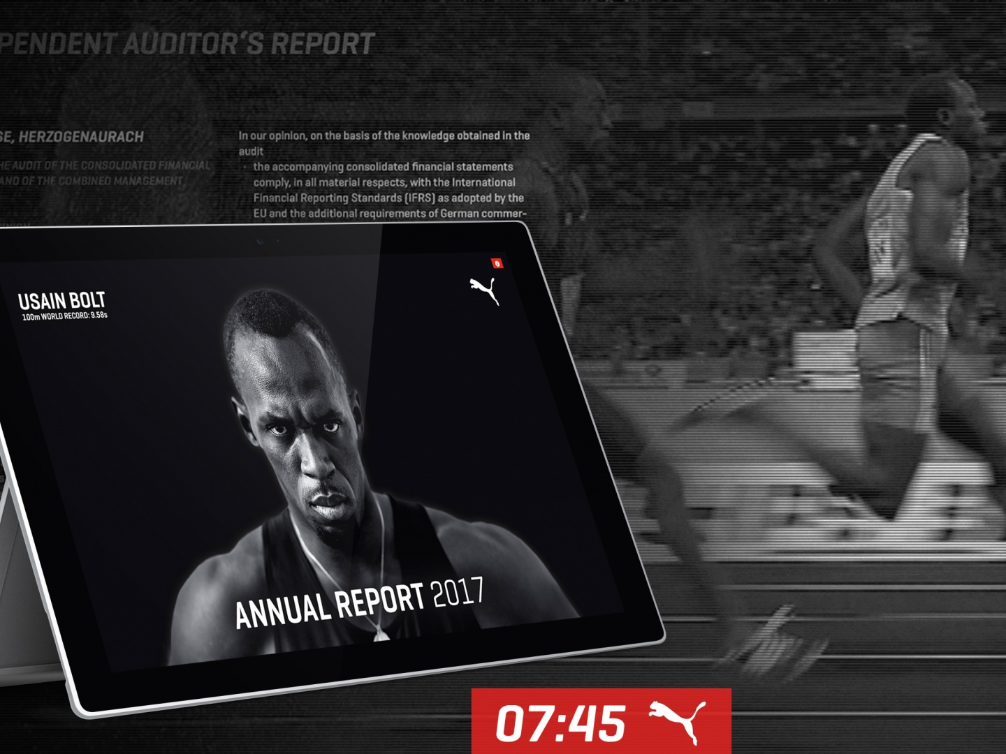9.58 Seconds - The World's Fastest Annual Report Thumbnail