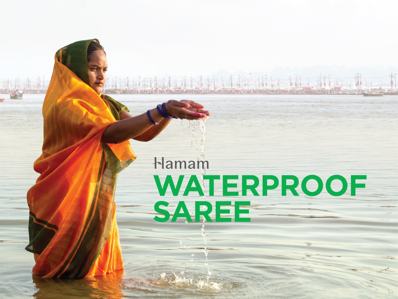 The Waterproof Saree Thumbnail