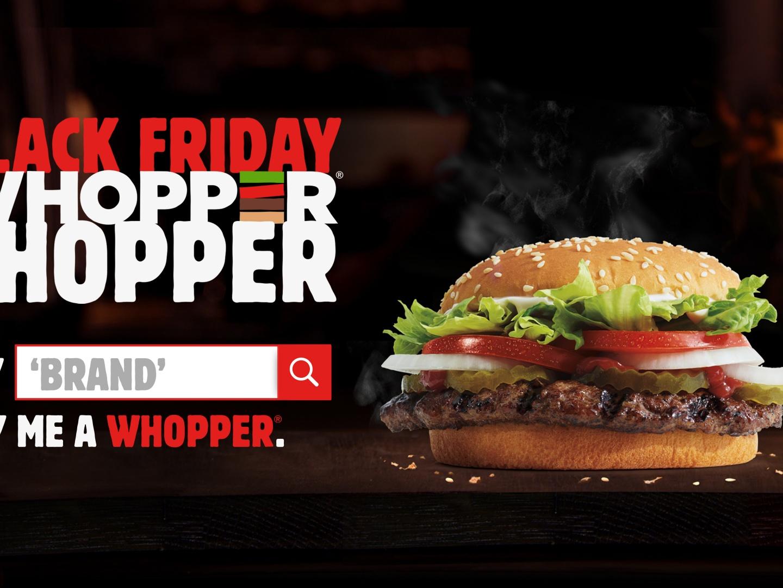 Black Friday Whopper Shopper Thumbnail