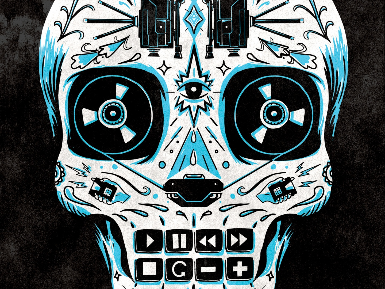 Blue Skull Thumbnail