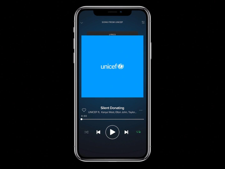 Unicef - Silent Donating Thumbnail