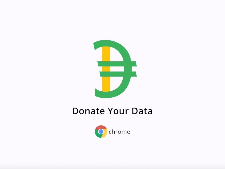 Google Chrome - Donate Your Data Thumbnail