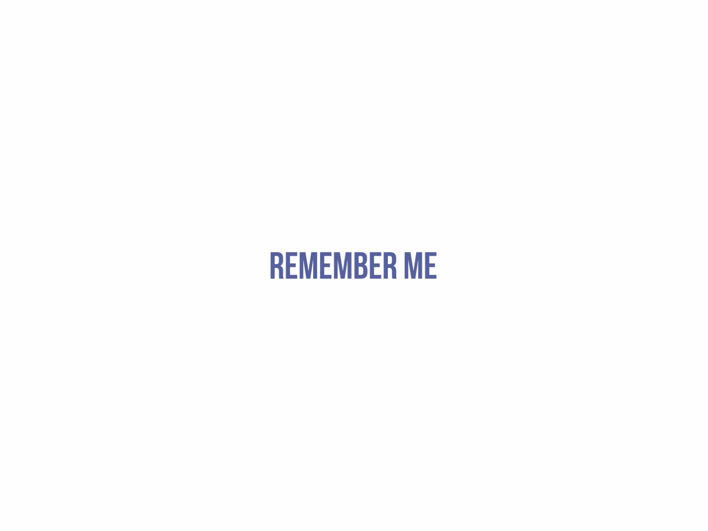 Remember Me Thumbnail