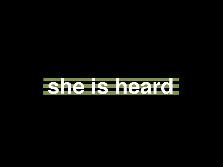 she is heard Thumbnail
