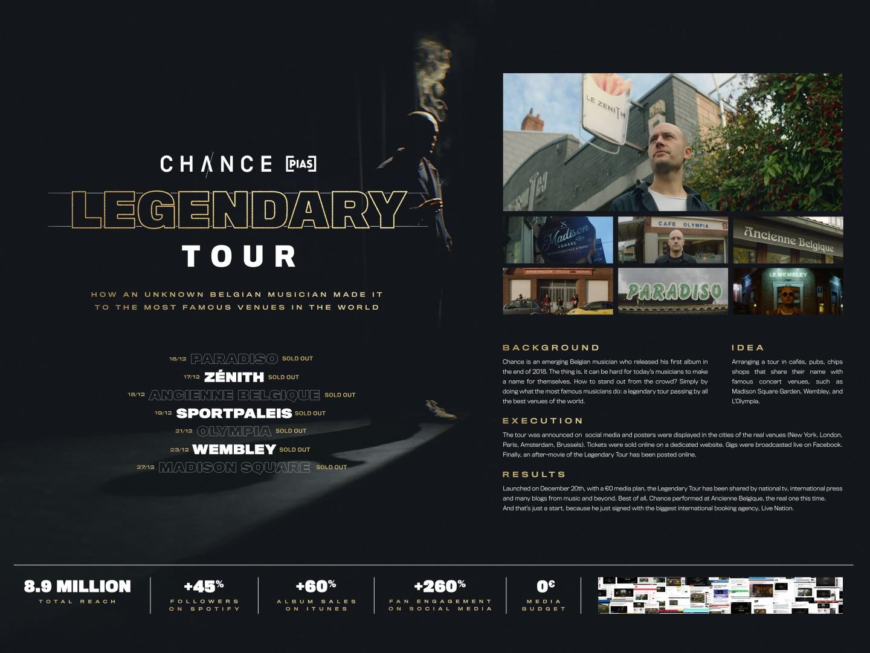 The Legendary Tour Thumbnail