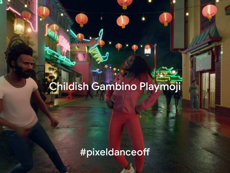 Pixel 3: Childish Gambino Playmoji Thumbnail