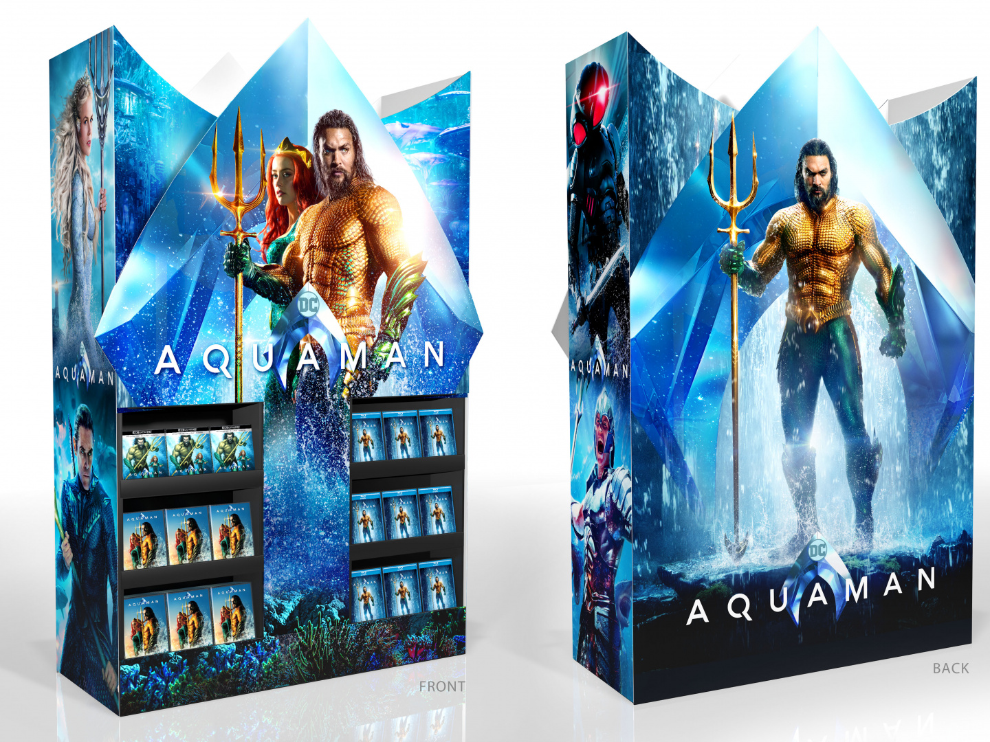 Aquaman Home Entertainment Best Buy Display Mini Wow Cube Thumbnail
