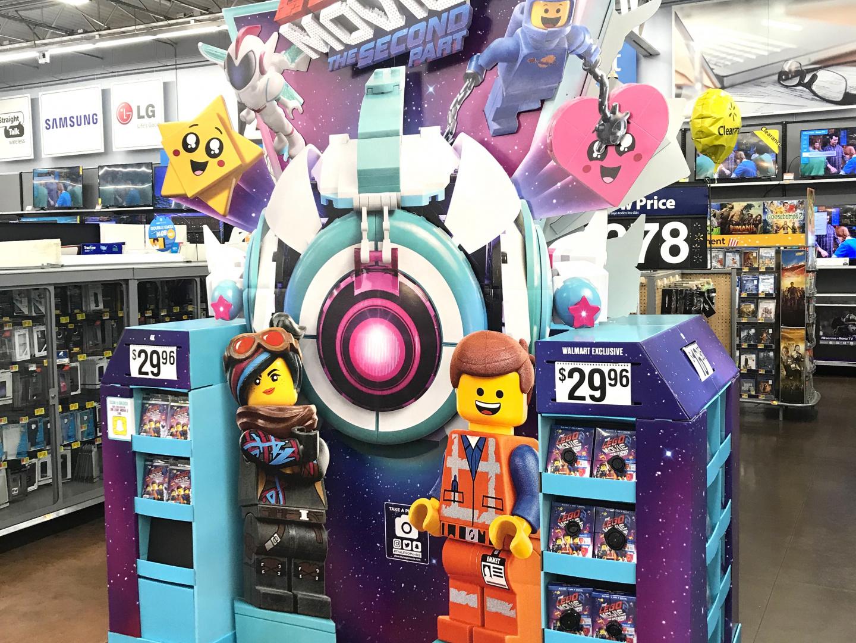 LEGO Movie 2 Walmart WOW Display Thumbnail