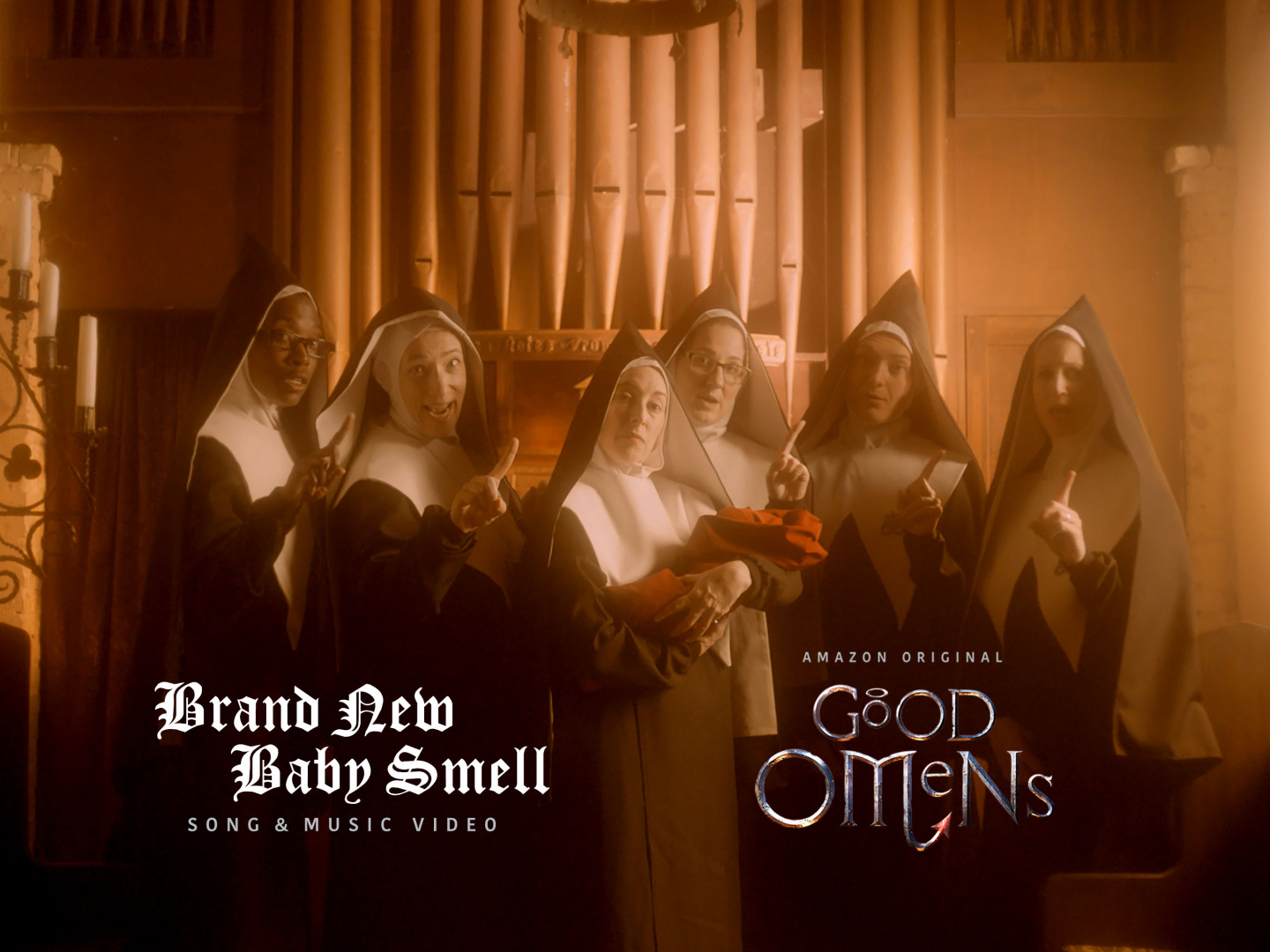 Brand New Baby Smell : Good Omens Music Video  Thumbnail