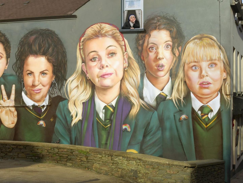 Derry Girls Mural Thumbnail