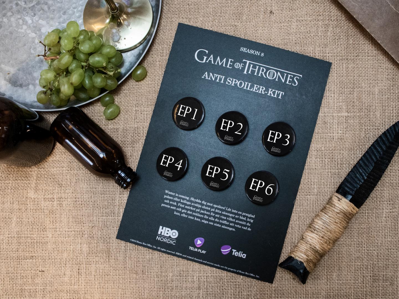 Game of Thrones Anti spoiler-kit Thumbnail