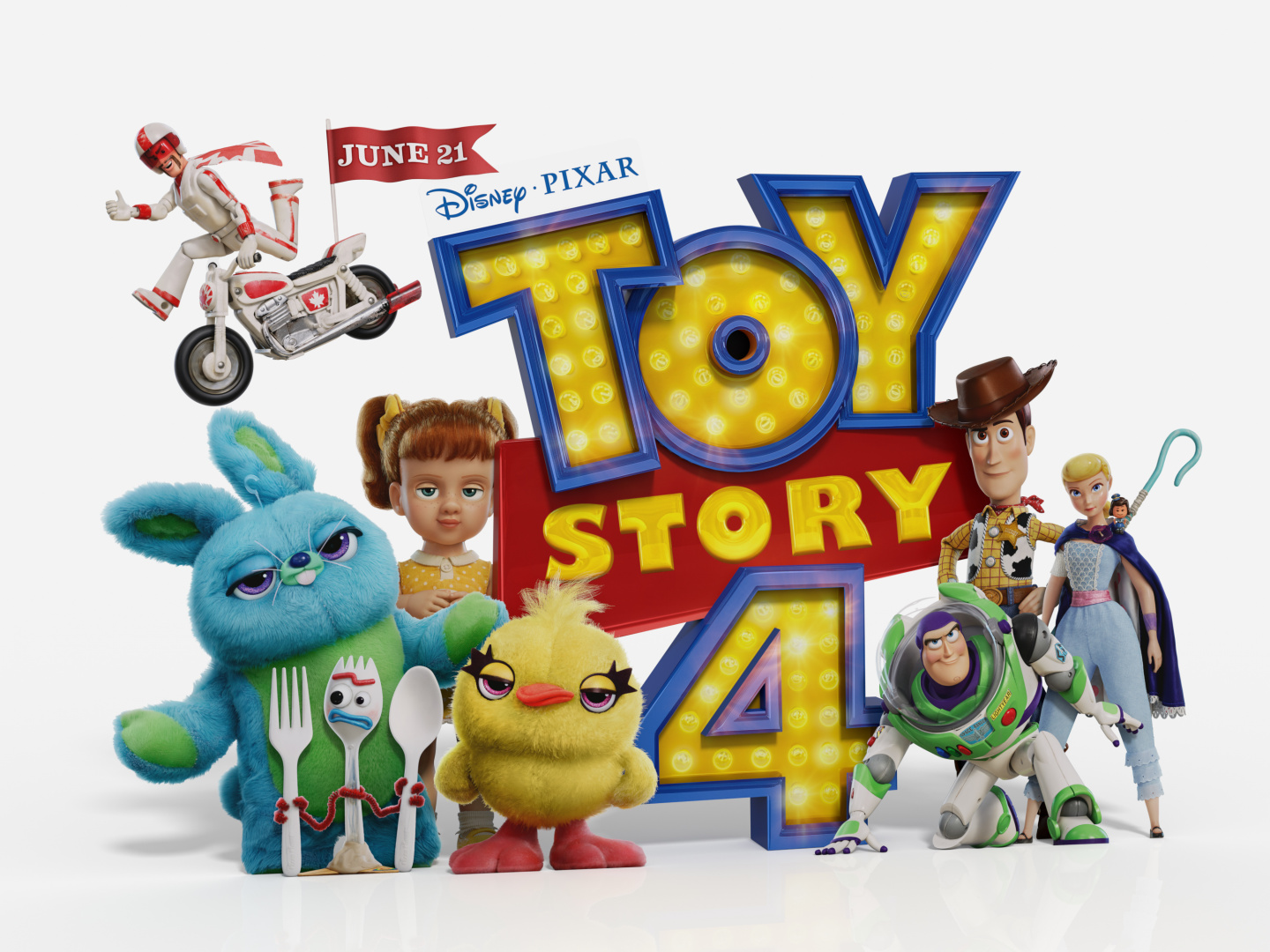 Toy Story 4 In-Theatre Standee Thumbnail