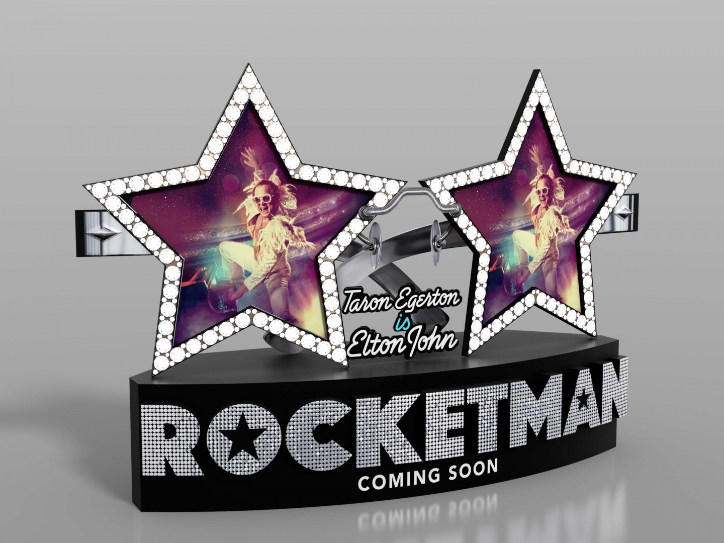 Rocketman International In-Theatre Standee Thumbnail