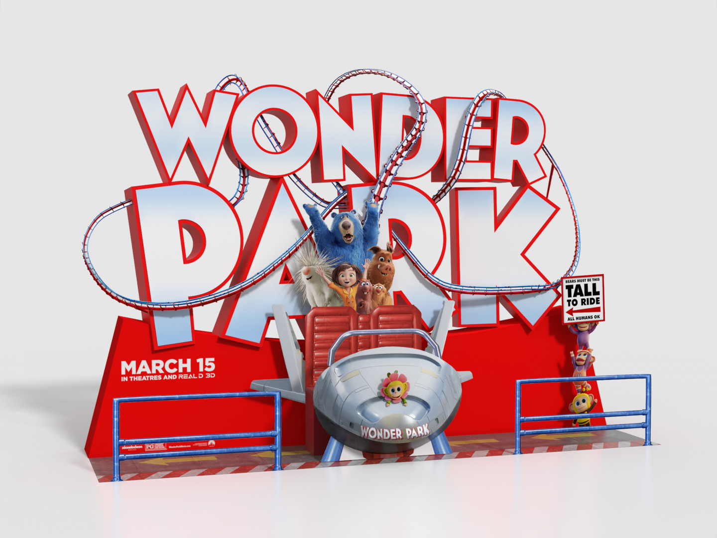 Wonder Park In-Theatre Standee Thumbnail