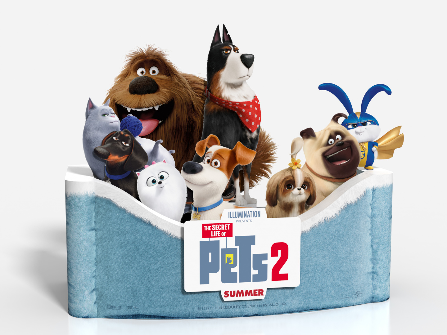 The Secret Life of Pets 2 In-Theatre Standee Thumbnail