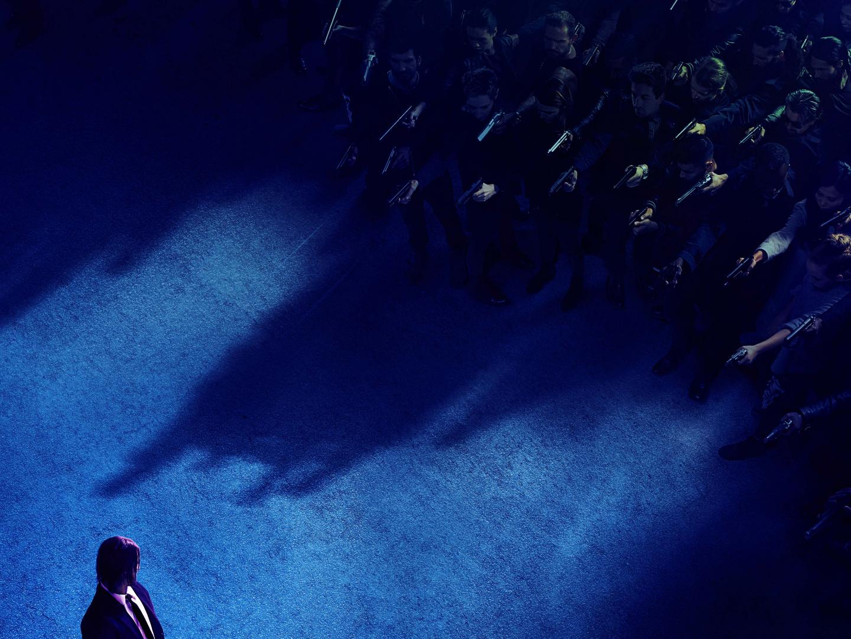 JOHN WICK CHAPTER 3: PARABELLUM Teaser One-Sheet Thumbnail