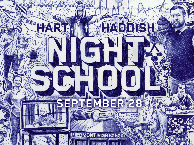 NIGHT SCHOOL Wild Postings Thumbnail