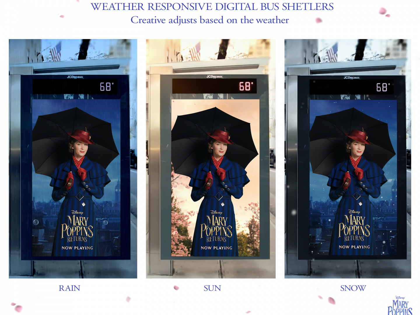 Mary Poppins Returns - Weather Responsive Bus Shelter Thumbnail