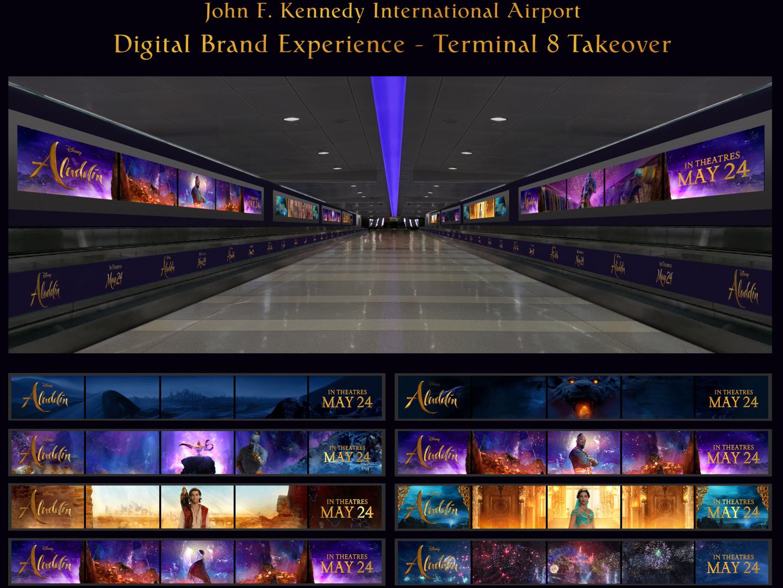 Aladdin - JFK Airport Terminal Takeover Thumbnail