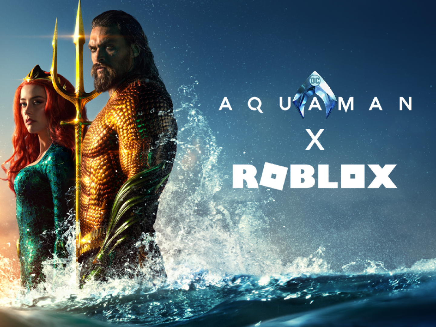 Aquaman & Roblox Partnership  Thumbnail
