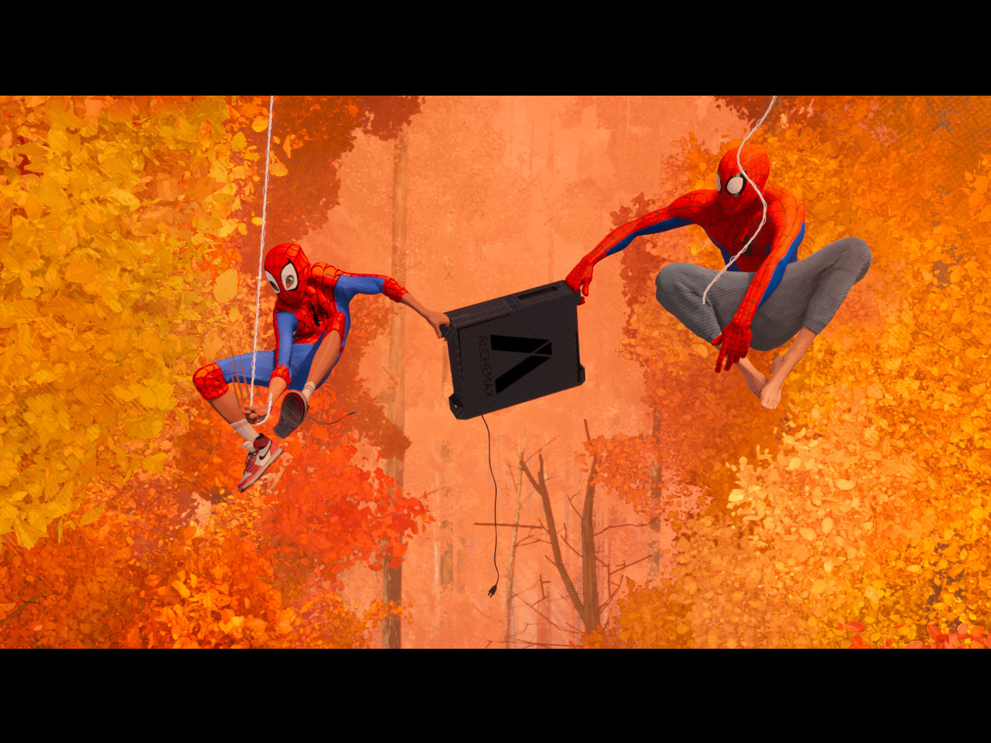 "Spider-Man: Into the Spider-Verse - Trailer ""Swing"" Thumbnail"