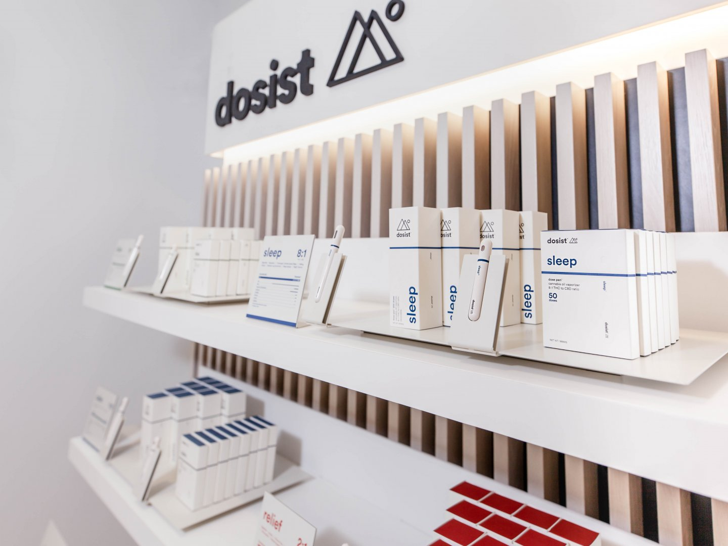 Dosist : Elevating the Dispensary Shop-in-Shop