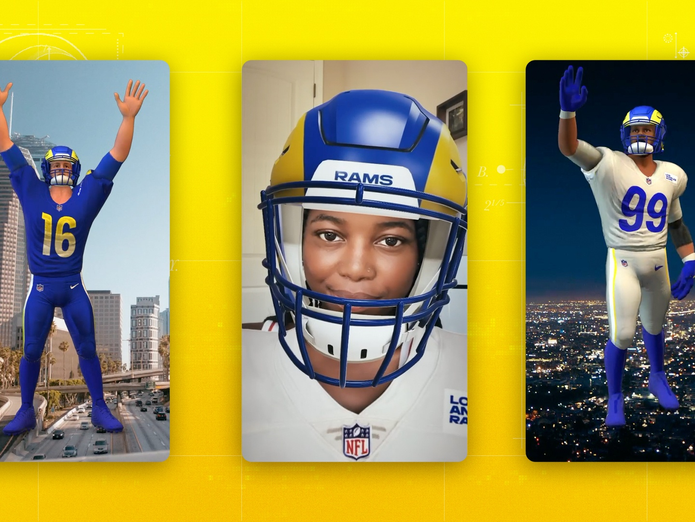 Rams x Snapchat - First ever NFL uniform reveal Thumbnail