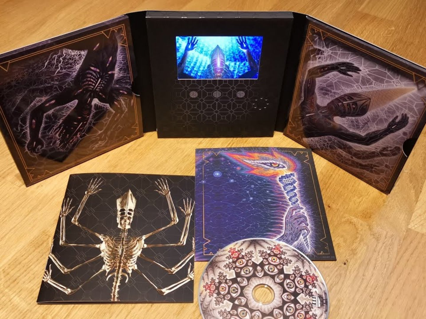 """TOOL:  """"Fear Inoculum"""" Deluxe Edition & """"Fear Inoculum"""" Book Edition Thumbnail"""
