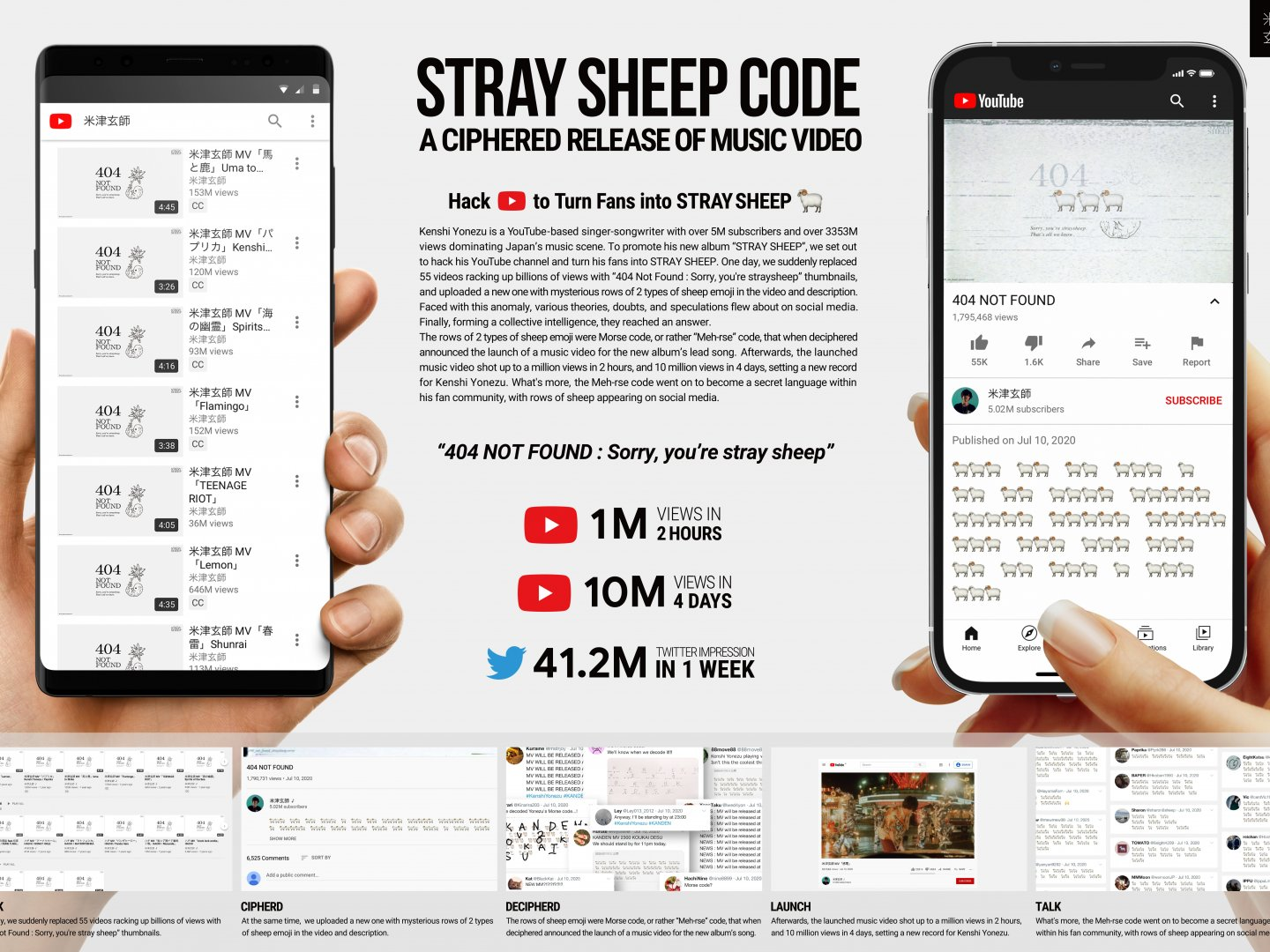 A Ciphered Release of Music Video : STRAY SHEEP CODE Thumbnail