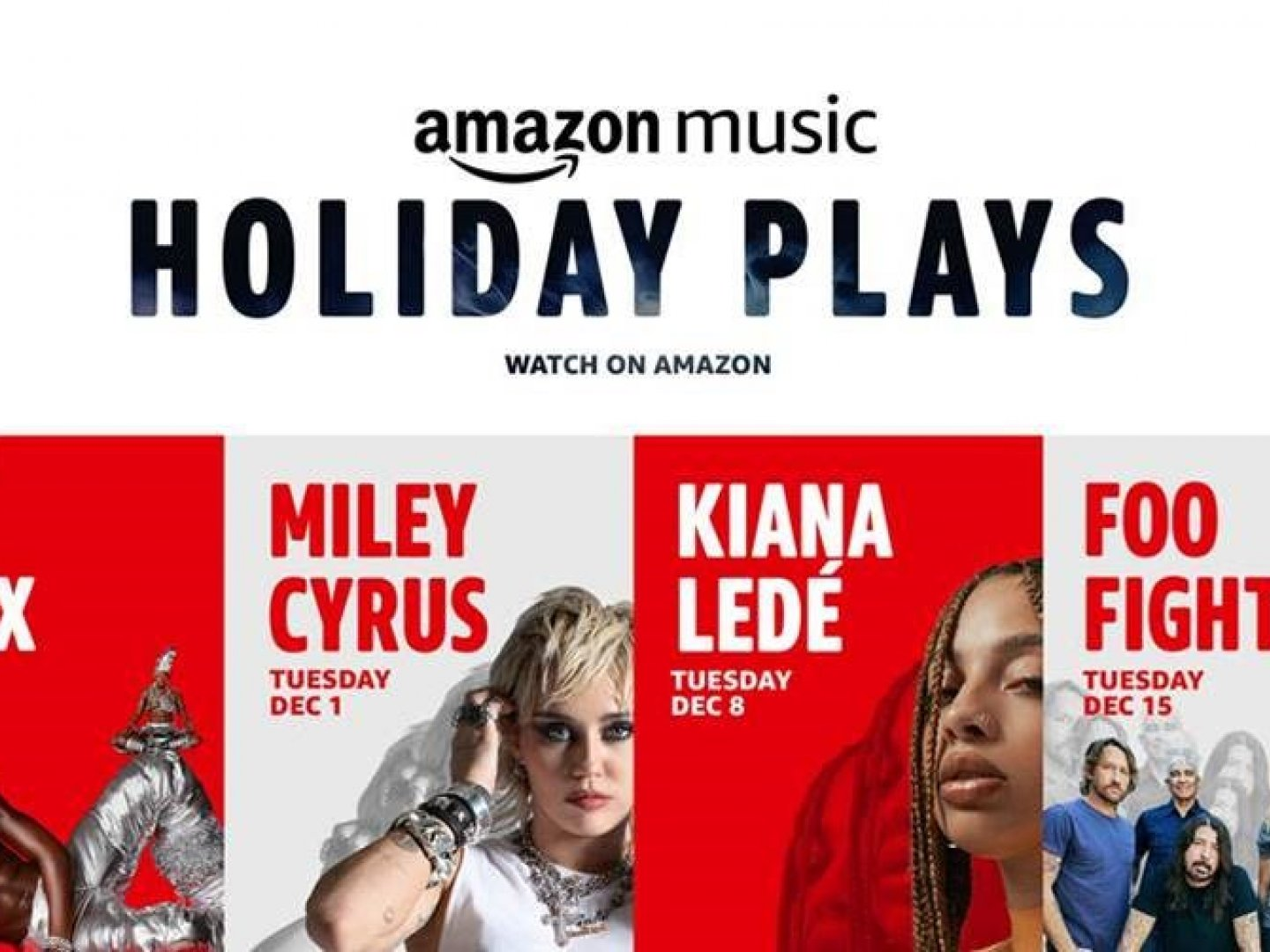 Holiday Plays: A Concert Series with performances by Miley Cyrus, Foo Fighters, Lil Nas X, and Kiana Ledé Thumbnail