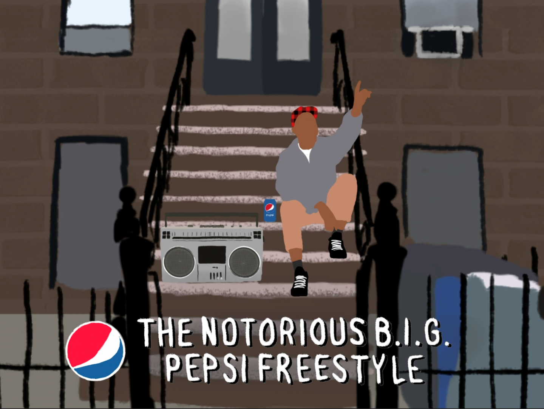 The NOTORIOUS B.I.G. Pepsi Freestyle Thumbnail