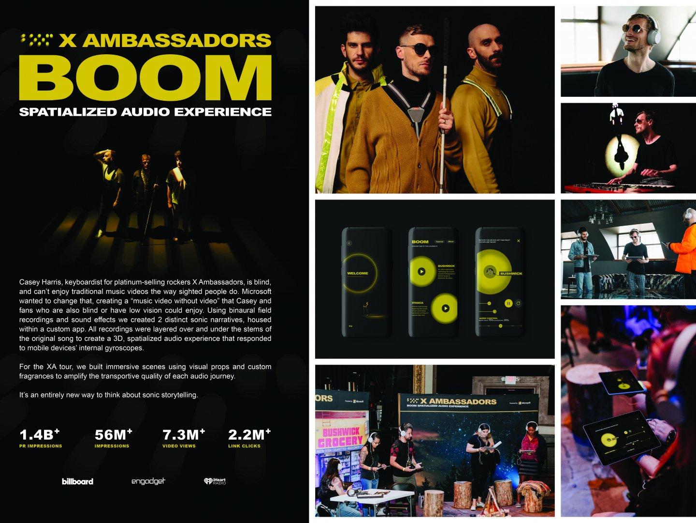 X Ambassadors Boom app Thumbnail