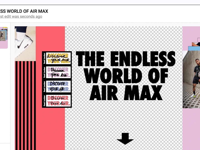 Endless World of Airmax Thumbnail