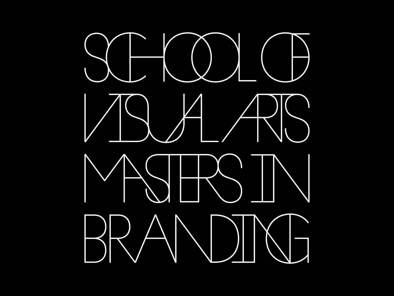 SVA Masters in Branding Thumbnail