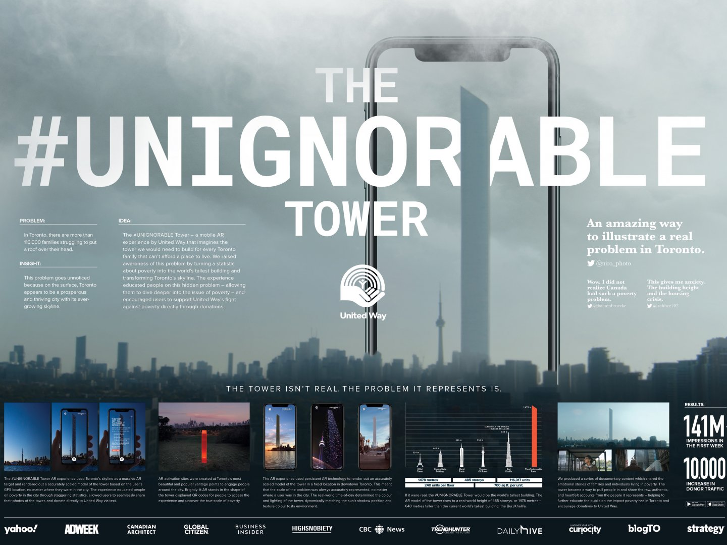 The #UNIGNORABLE Tower Thumbnail
