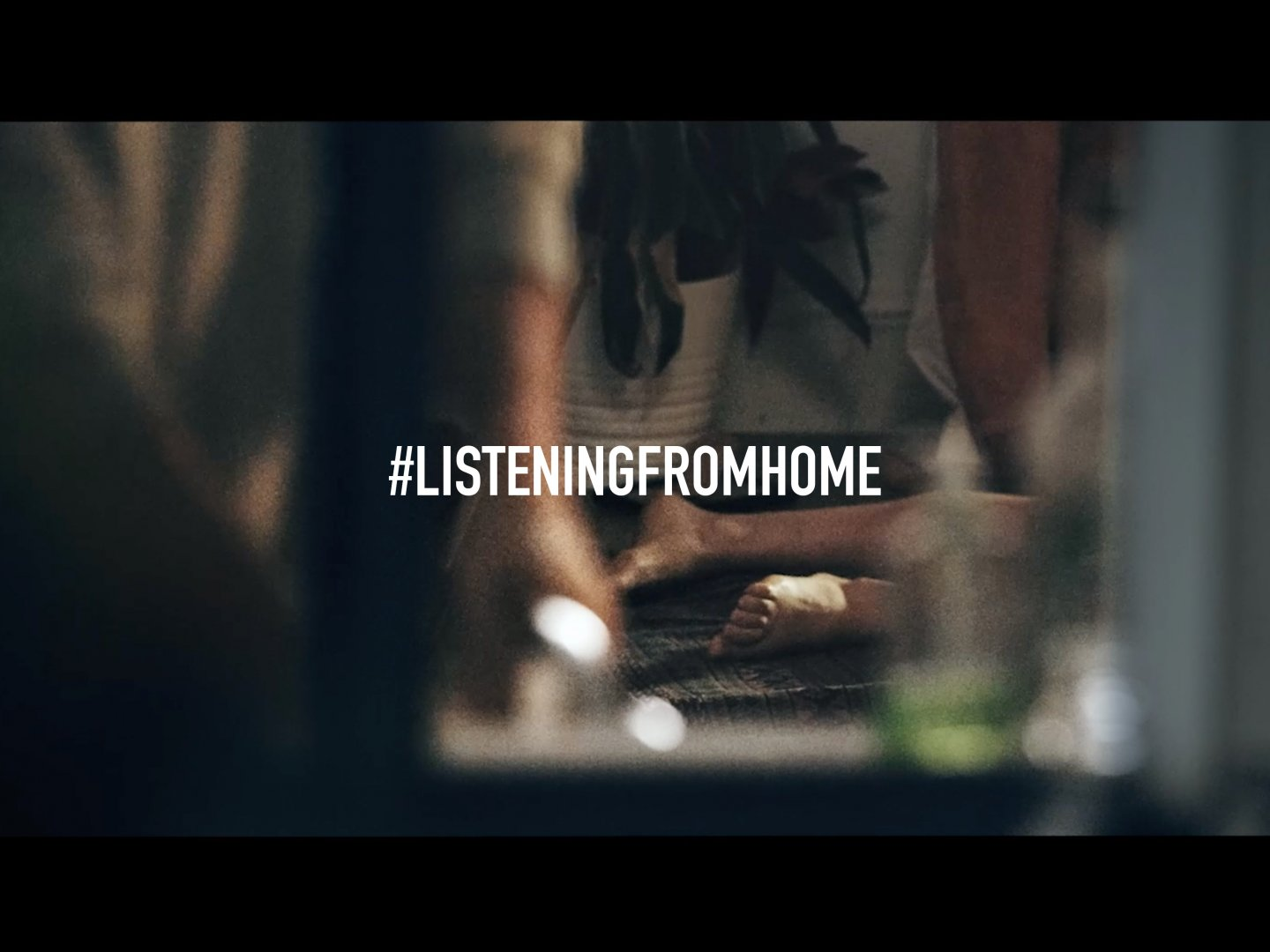 Listening from home Thumbnail