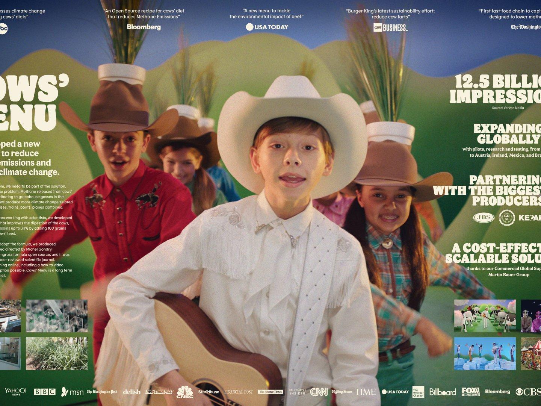 BK Cows' Menu Music Video Thumbnail