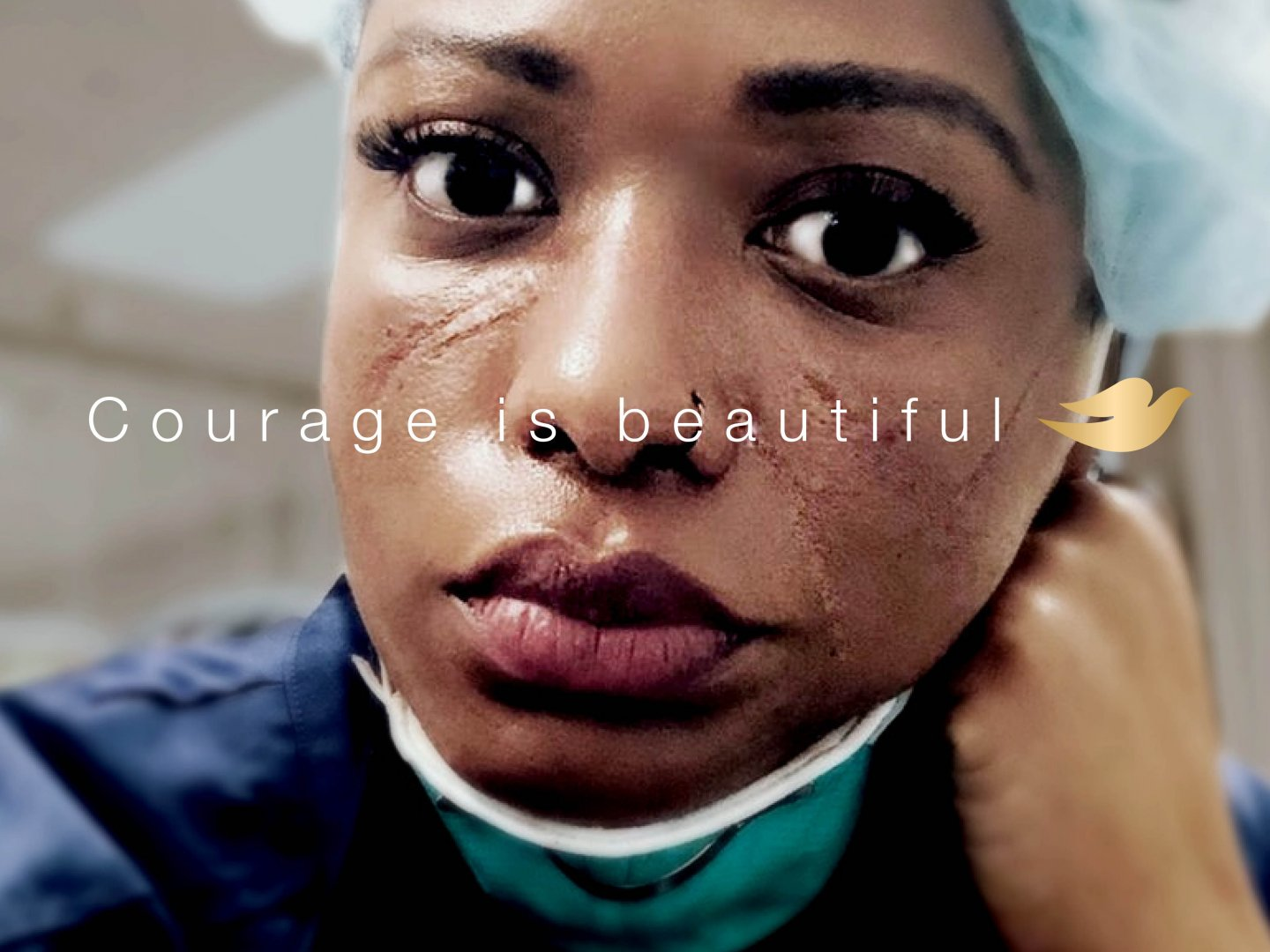 Courage Is Beautiful (Patricia) Thumbnail