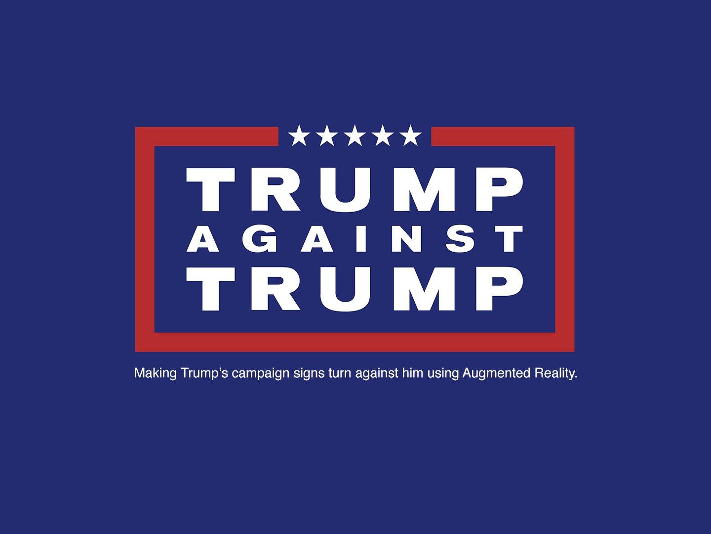 Trump Against Trump Thumbnail