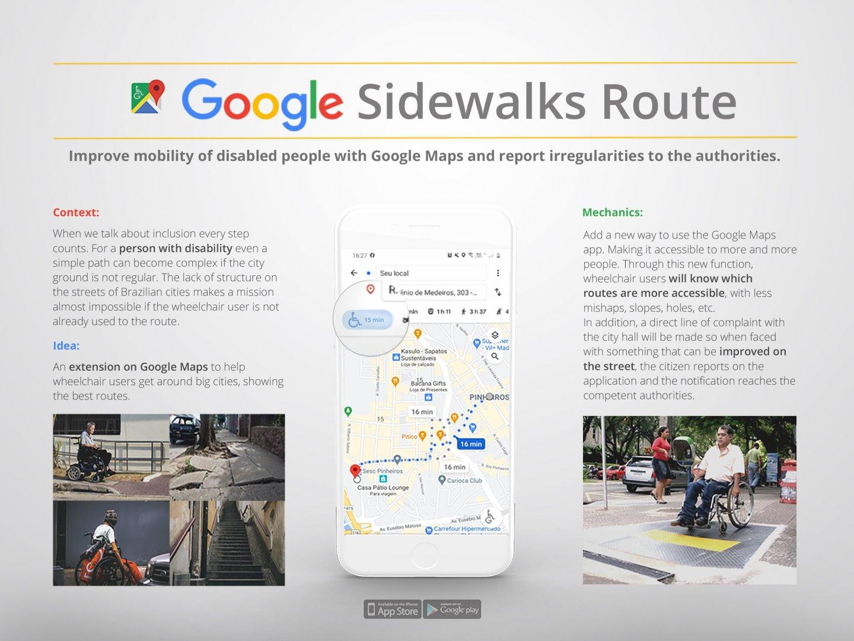 Google Sidewalks Route Thumbnail