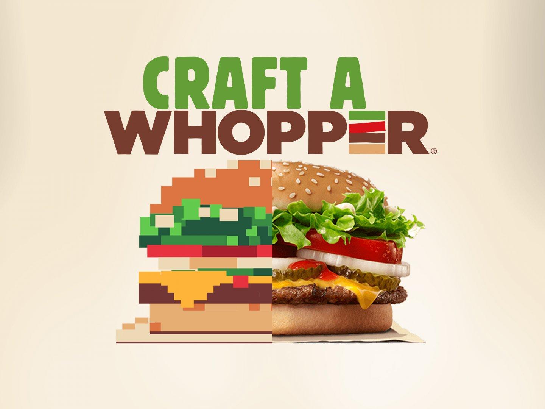 Craft a Whopper Thumbnail