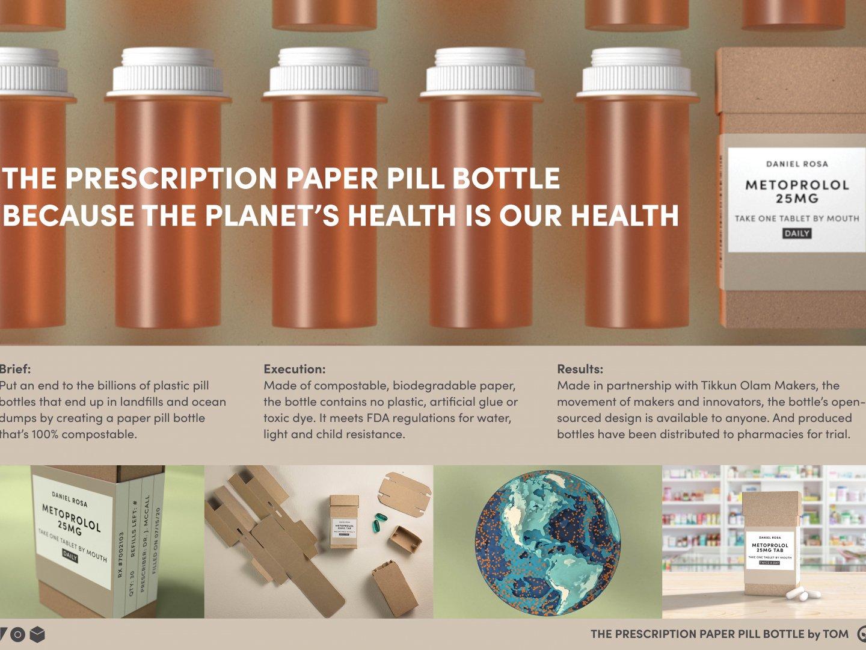 The Prescription Paper Pill Bottle Thumbnail