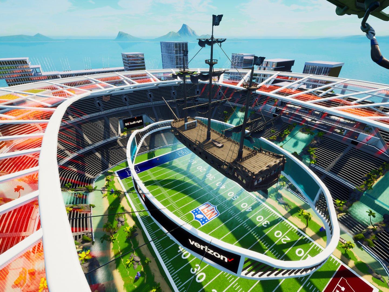 Verizon Fortnite Stadium  Thumbnail