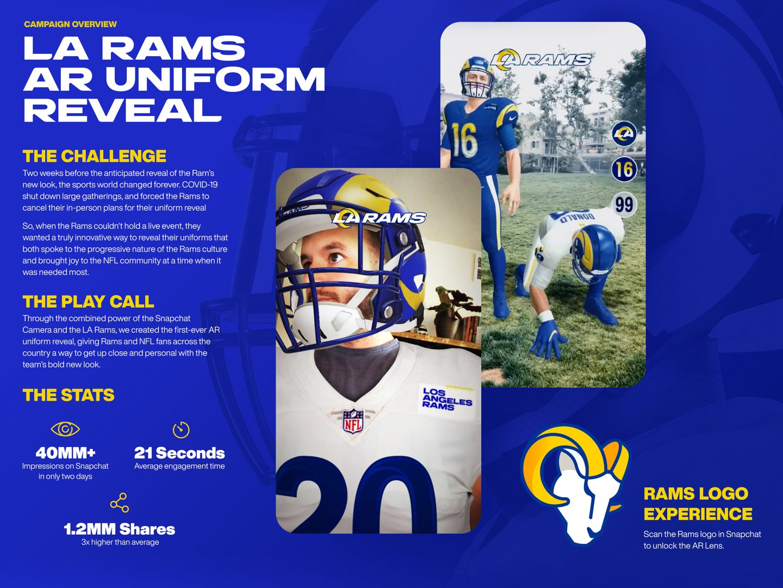 LA Rams AR Uniform Reveal  Thumbnail