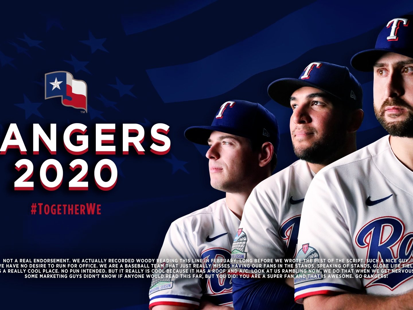 Support Your Rangers against the Astros Thumbnail