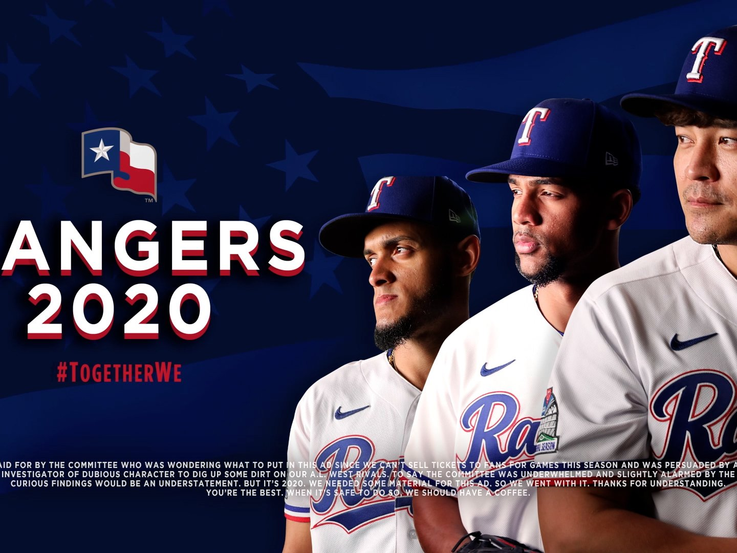 Support Your Rangers against the Mariners Thumbnail