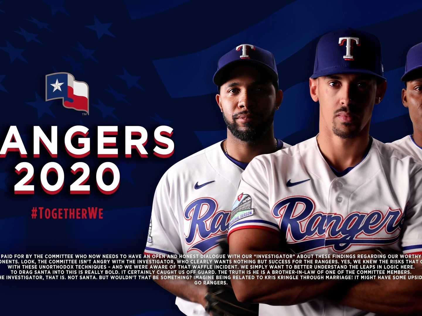 Support Your Rangers against the Athletics Thumbnail